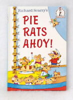 Pie Rats Ahoy! by Richard Scarry exc cond illustrated hardcover beginner books