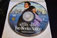 Two Weeks Notice (DVD, 2003, Widescreen)Disc Only Free Shipping