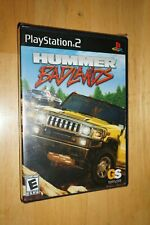Hummer Badlands Sony Playstation 2 PS2 Video Game Complete Brand New! Sealed!