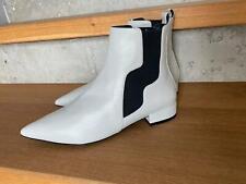 Bruno Premi-  Boots Stiefeletten Leder in hellem grau  NEU Gr 38 S143N
