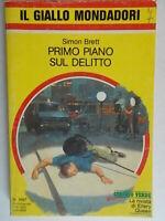 Primo piano sul delittoBrett SimonMondadorigiallo1897paris attore singer 6