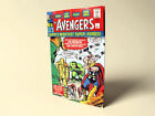 The Avengers Marvel Comics issue #1 cover retro vintage fridge locker magnet