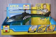 Haynes Apex Helicopter Model And Official Kids Manual Brand New Age 3+ Years