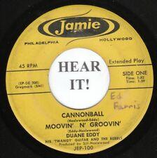 DUANE EDDY EP (Jamie 100) Cannonball /Moovin' N' Groovin' /Mason-Dixon Lion+