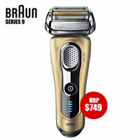 Braun Series 9 Electric Shaver only Wet & Dry Precision Trimmer Recharge GOLD