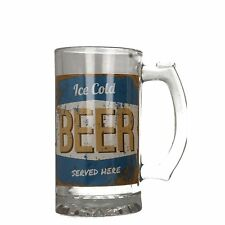 LESSER & PAVEY BEER GLASS STYLE - LP33257 (BLUE)