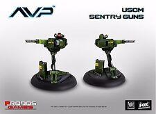 Nuevo Alien vs Predator comienza la caza USCM Juego de expansión Sentry armas Avp UK