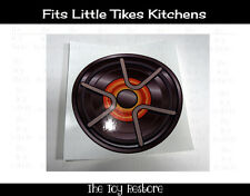 Replacement Decal Sticker fits Little Tikes Kitchen Burner Element Stovetop D