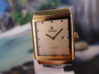 Smart Collectible Men's/Ladies' Rado Gold Plate Manual Wind Watch 30mm