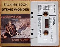 STEVIE WONDER - TALKING BOOK (TCSTMA8007) 1972 UK CASSETTE TAPE MOTOWN SOUL
