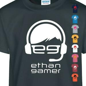 Ethan EGTV Youtubers Kids Vlogger Funny Gamer Kids Gaming New Present Tshirt