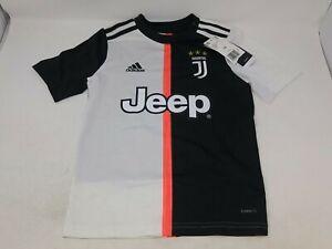 Adidas Kids Black/White Juventus Soccer Jersey Size XS