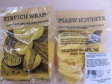 Lemon Stretch Wraps-zitronenserviertuch Yellow M. Rubber Band, 12 ST
