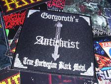 Gorgoroth Patch Black Metal