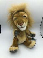 Original Creation Hansa Lion Hand Puppet Plush Kids Soft Stuffed Toy Animal