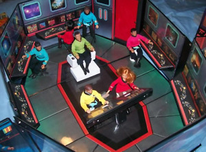 STAR TREK PROP*1974 Mego Star Trek USS Enterprise Playset no figures*