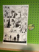 DC Comics Suicide Squad #1 Page 5 Original Art Page Rick Flagg Kitana Jim Lee