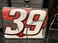 SIGNED- Ryan Newman RACE-USED NASCAR Door SHEETMETAL Autographed!  #39