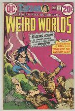 Weird Worlds #6 July 1973 VG Kaluta Cover