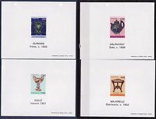 FG ND    série des  arts décoratifs    1994   num: 2854 a 2857