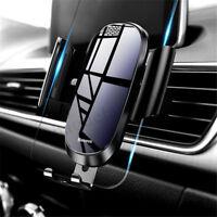 Baseus Aluminium Voiture Support Gravité Fixation Automatique Téléphone GPS