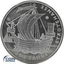 *** 10 Euro Gedenkmünze DEUTSCHLAND 2006 650 Jahre Städtehanse J Silber ***
