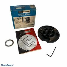 Sears Craftsman Rotary Planer 9-29513 With Box Insruction Booklet & Allen Wrench