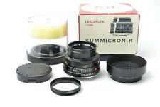 NEW Leica 50mm f2 Leitz Wetzlar Summicron-R Lens 50/2 Germany S/N 2528257