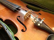 Opas Geige Violine mit Koffer, Rucksack und Bogen