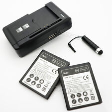 2x 3020mAh Battery Multi Function Charger Pen for Samsung Galaxy Xcover GT-S5690