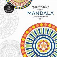 Mandala (Coloring Book) 'Color In; De-stress (72 Tear-out Pages) Color, Vive Le