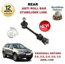 FOR VAUXHALL ANTARA 2006-->ON REAR ANTI ROLL BAR STABILISER LINK WITH RUBBERS