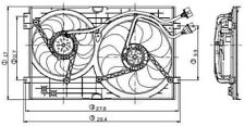 Engine Cooling Fan Assembly Global 2811557