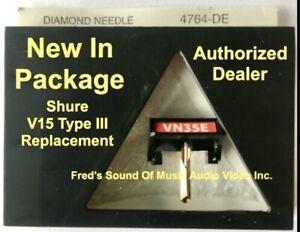 NEW Shure V15 Type III VN35E 4764DE Pfanstiehl Turntable Needle Best Replacement