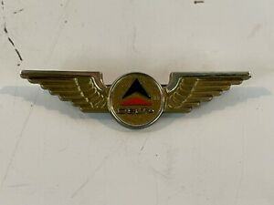 Vintage Delta Airlines Pilot Wings Decorative Logo Pin