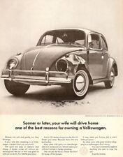 VW FEMME AD rétro en métal étain signe AFFICHE PLAQUE Garage Wall Decor A4