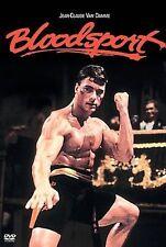 BLOODSPORT rare Martial Arts dvd JEAN CLAUDE VAN DAMME 1987