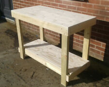 WORKBENCH 4ft 18MM THICK WATER RESISTANT PLYWOOD TOP  - CHEAPEST ON EBAY