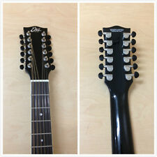 06217029 EKO NXT 018 CW XII EQ Black 12-String Jumbo Electro-Acoustic Guitar