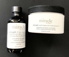Philosophy Miracle Worker Anti-Aging Retinoid Solution 2oz w/ 60 Pads Set NEW