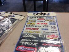 Factory Effex Sponsor Kit A Graphics Decals Stickers Sticker Sheet KYB Arai Afam