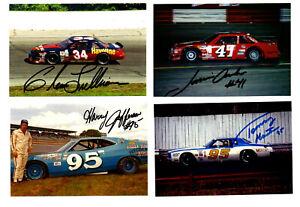 NASCAR authentic autographed 22 4x6 photo lot NO RESERVE