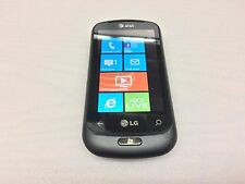 LG QUANTUM C900 (BLACK) AT&T WINDOWS PHONE