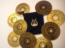 Mr. Christmas Lot of 9 - Music Discs with Pouch
