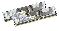 2x 4GB 8GB RAM Lenovo ThinkServerTD120 PC2-5300F 667 Mhz Fully Buffered DDR2
