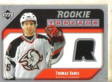 2005-06 UPPER DECK - THOMAS VANEK ROOKIE JERSEY