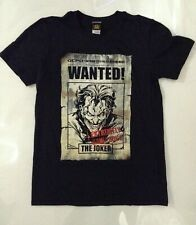 Batman Men's Joker Wanted T-shirt Black Large