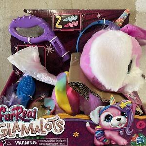 FurReal Friends Glamalots HUND läuft an der Leine elektrisch Spielfigur Stylen