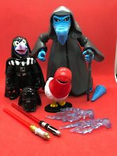 STAR WARS STAR TOURS MUPPETS UNCLE DEADLY,GONZO,CHICKEN LOOSE COMPLETE