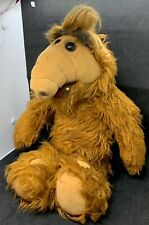 """1986 Alf Character Stuffed Plush Toy 18"""" Coleco Alien Productions"""